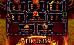Phoenix Slot Screenshot 3