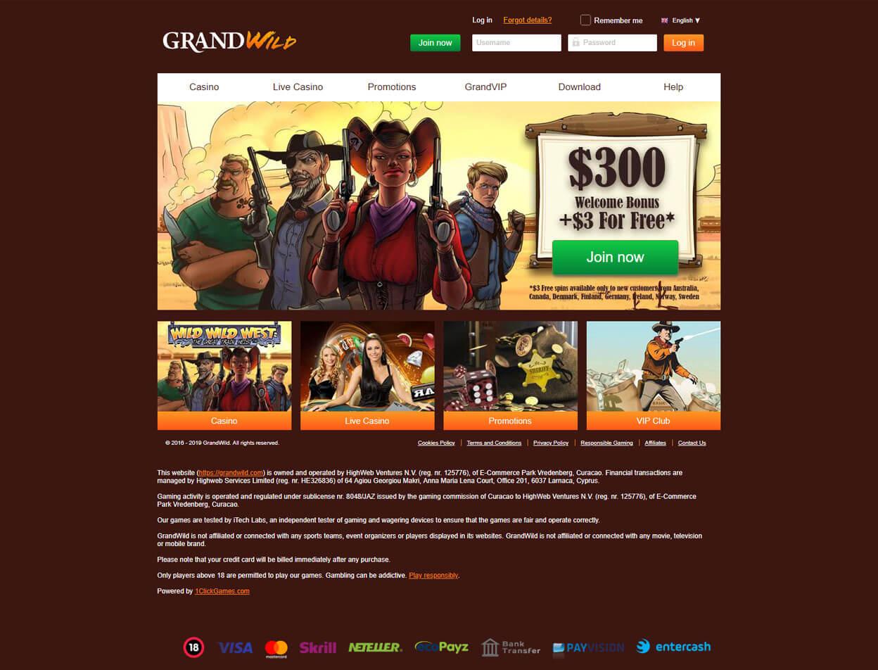 GrandWild Screenshot 1