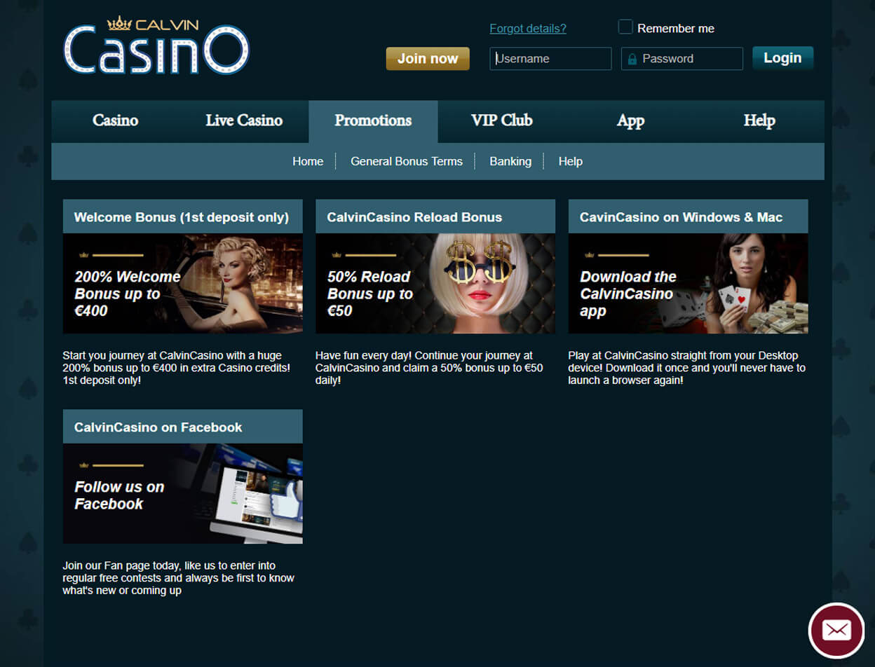 CalvinCasino Screenshot 2