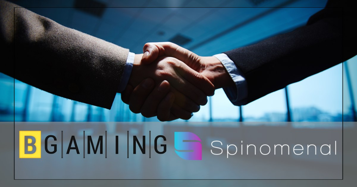 BGaming Ties up with Spinomenal, Proves Itself Unstoppable At Widening Market Reach