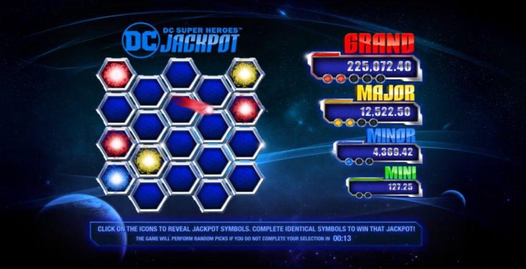 DC Super Heroes Jackpot