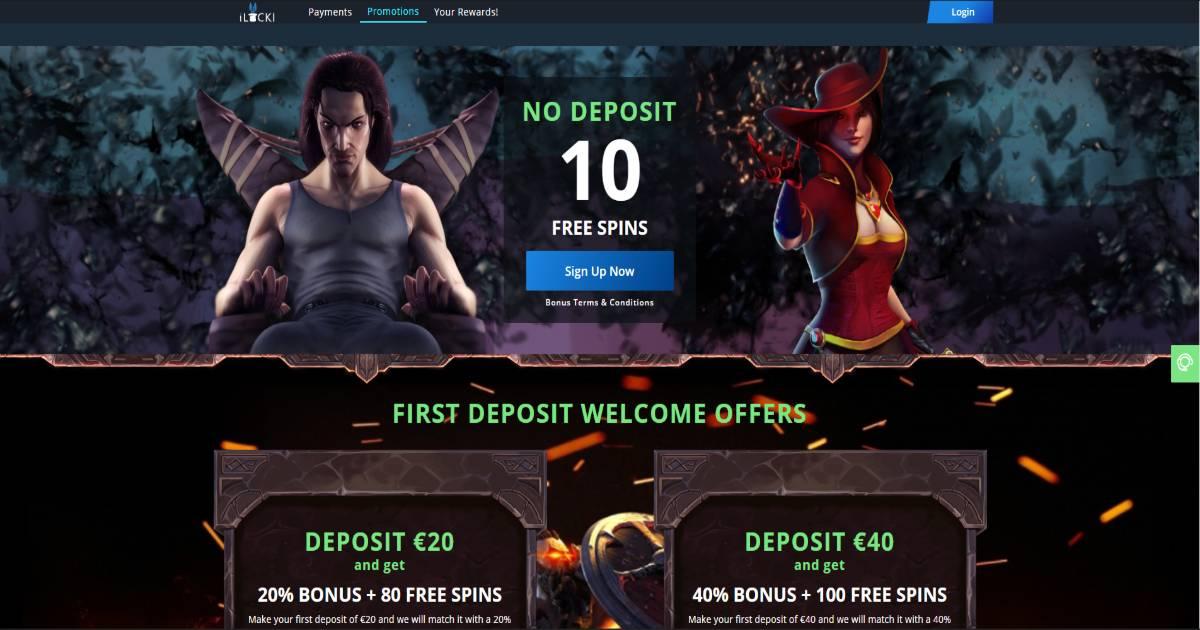 iLucki Casino Screenshot 3