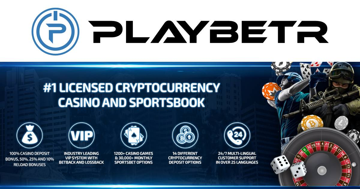 PlayBetr to Introduce More Promotions, Features, Bonuses, Jackpots & Tournaments