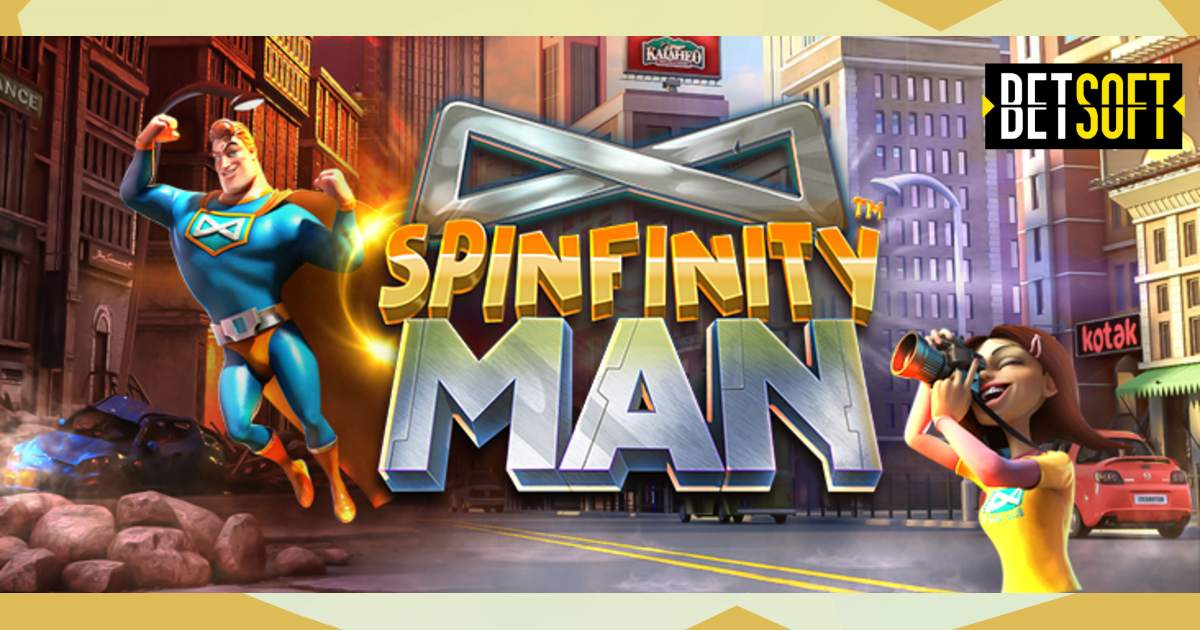 Get Ready for the Summer Blockbuster: Spinfinity Man