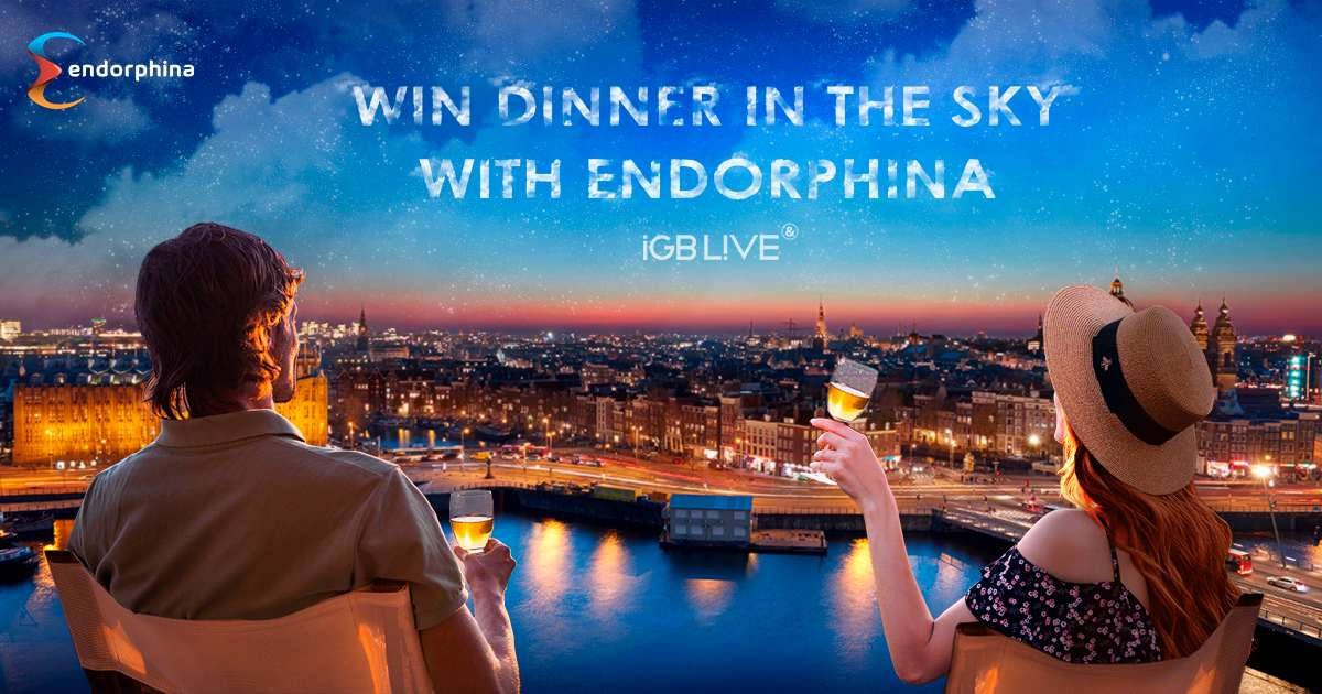 Dinner in the Sky with Endorphina