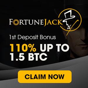FortuneJack 1st Deposit Bonus